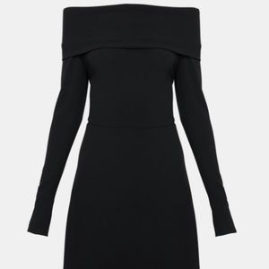THEORY ELEGANT MINI KENSING DRESS